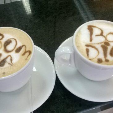 Sobre café com as amigas