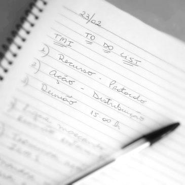 Como organizo tarefas mais importantes